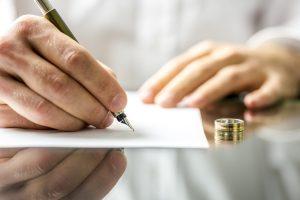 Подача заявления на развод